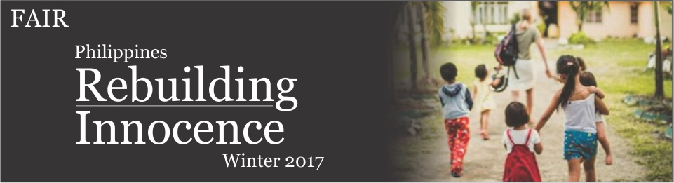 Philippines 2017 Rebuilding Innocence banner