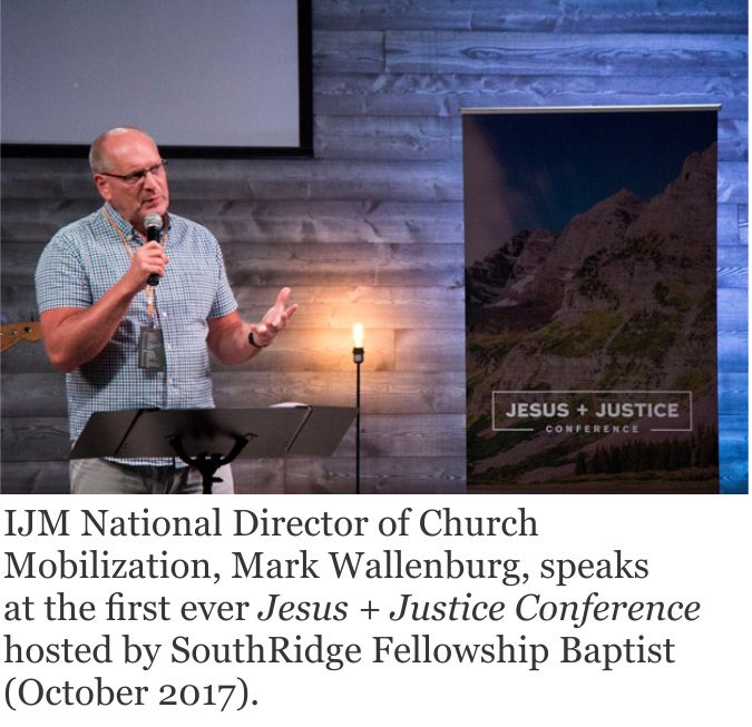 FAIR partnership imagery - IJM speaker and quote