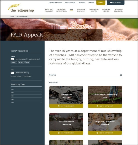 new site FAIR project page
