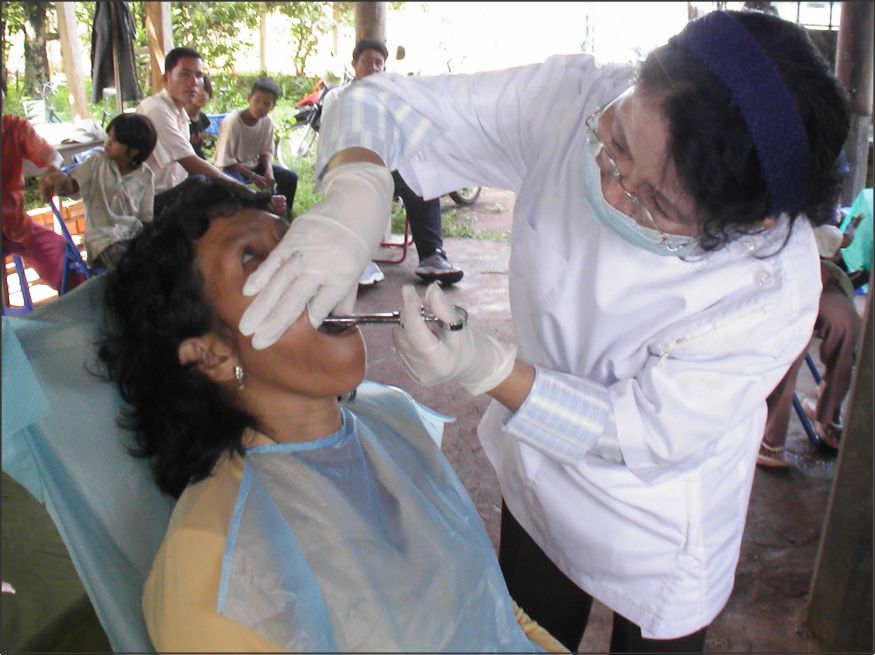 FAIR - Cambodia mobile dental clinic