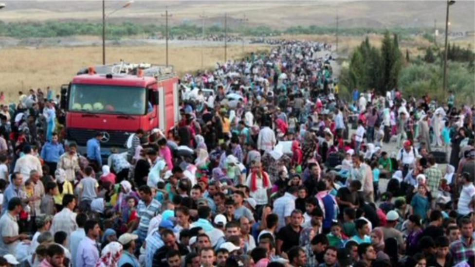 FAIR - Appeals - Syria large group of refugees