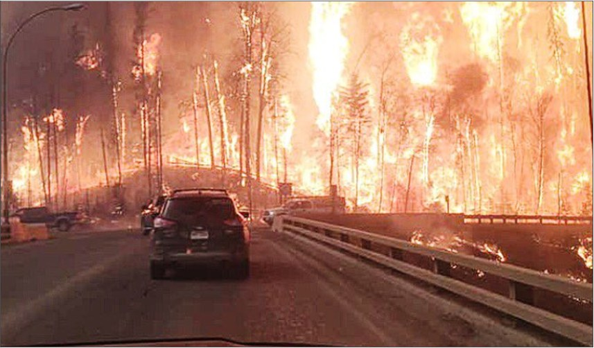 Special Appeal - Alberta wildfire image