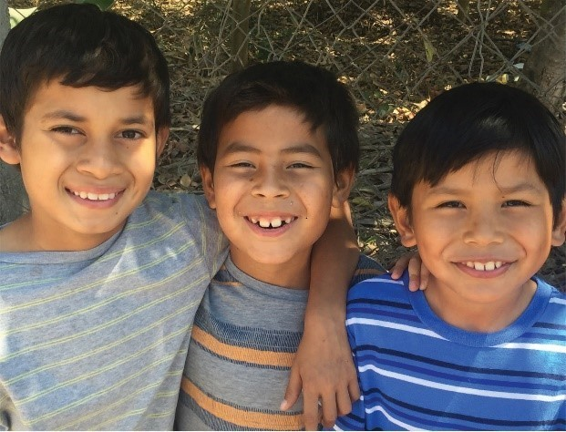 Boys in Honduras